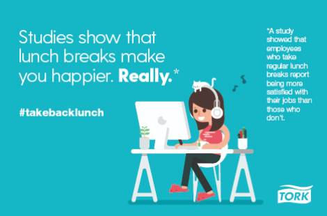 Happy Desk: Take Back Lunch