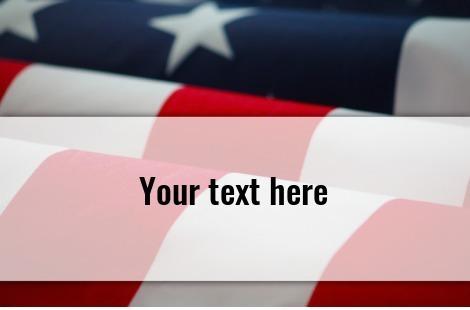 Amerikaflagge